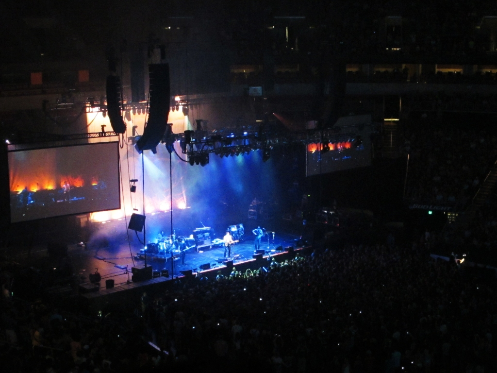 "Death Cab For Cutie played ""Transatlanticism"" in its entirety to celebrate the 10th anniversary of the album. Here's a view from the nosebleeds!"