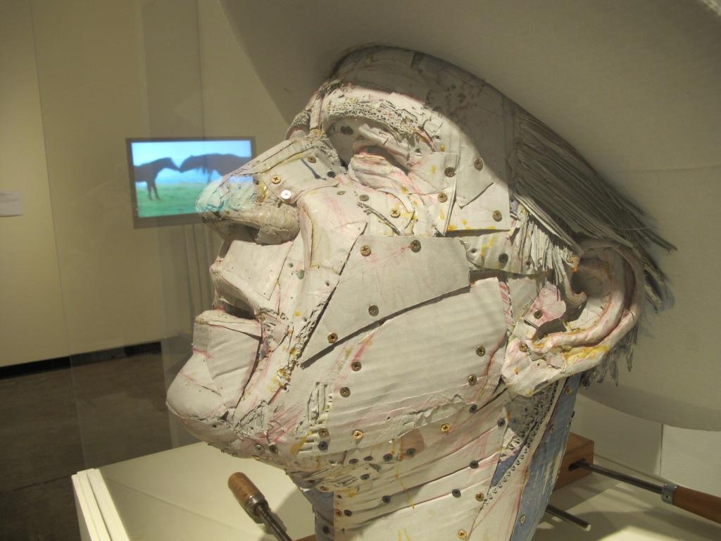 John Wayne sculpture by Jeff Frye--nightmares coming soon.