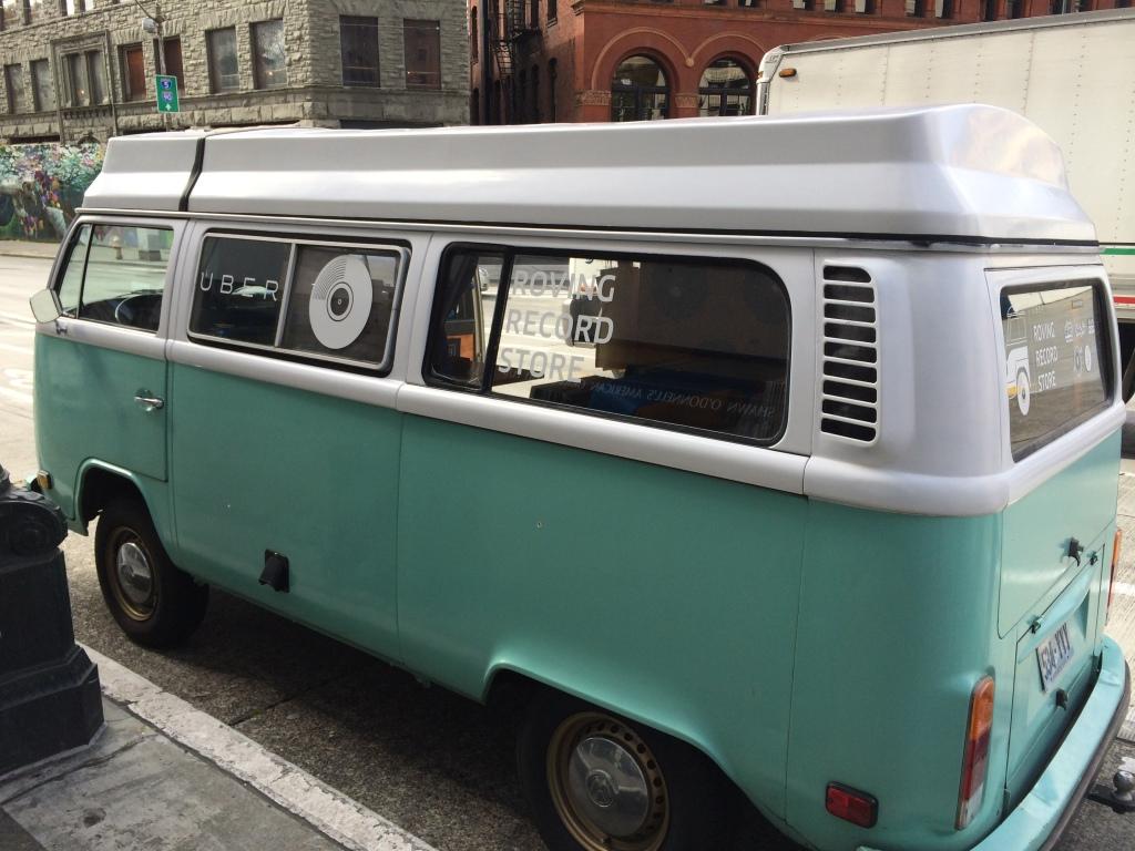 Outside The Van!